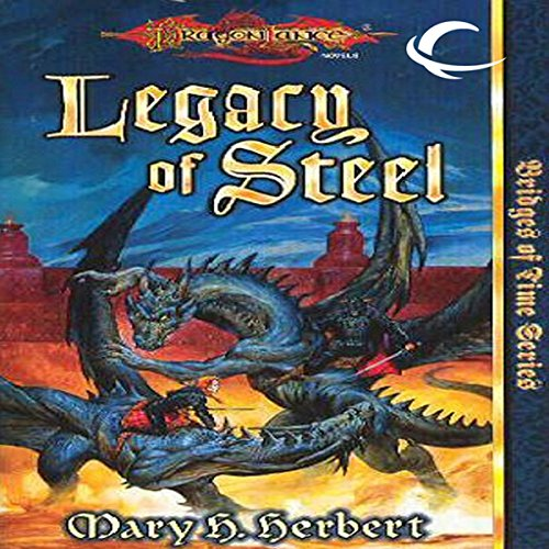 Legacy of Steel audiobook cover art