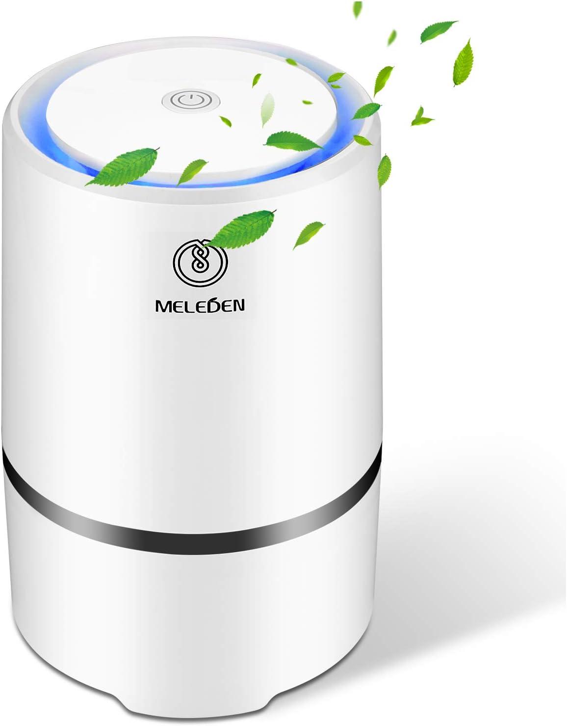 MELEDEN Purificador de aire para el hogar con filtros, 2020 mejorado diseño purificador de aire de bajo ruido