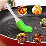 iusun Küche Silikon Backform Bakeware Brot Cook-Öl Creme BBQ Tools Backpinsel Pinsel Zufällig