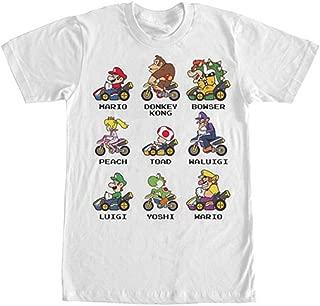 Nintendo Men's Kart Racers T-Shirt White