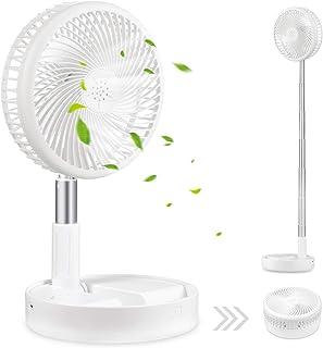 Ventilateur de bureau et de table,ventilateur de circulation d'air Mini ventilateurs de voyage portables alimentés par USB...