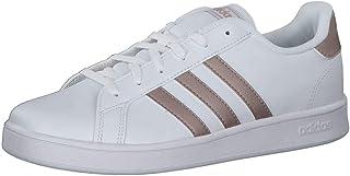 adidas Grand Court K, Scarpe da Tennis, Ftwwht/coppmt/glopnk, 40 EU