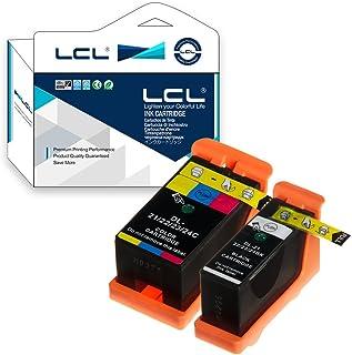 LCL Dell用 21 Y498D Y499D (4色セット ブラック カラー ) 互換インクカートリッジ 対応機種:DELL V313/V313W/V515W/P513W/P713W/V715W