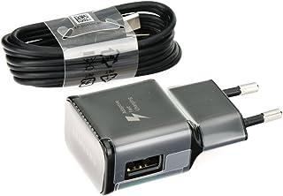 Samsung EP-TA20EBE - Caricabatterie rapido originale tipo C, con cavo di ricarica USB di tipo C, per Galaxy S8 S8+ S9 Plus...