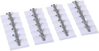 OPUS 2 Porte-badges nominatifs avec pince crocodile, épingle de sécurité et étui pour cartes vierges (lot de 24) | Porte-c...