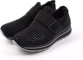 [Shoes in closet] ラインストーンがアクセント?カジュアルスニーカー【6352】