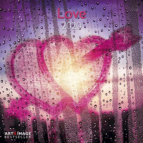 Love 2020 A&I - Broschürenkalender - 30x30cm - Wandkalender