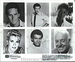1984 Press Photo Press Photos of The cast of Television Show Trapper John, MD