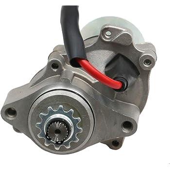 Amazon Com Starter Motor For Chinese Atv 2 Bolt 50cc 70cc 90cc 110cc 125cc Bike Honda Taotao Automotive