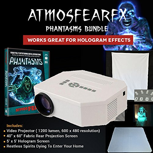 Atmosfearfx Phantasms Projector Kit with 3D Hologram Projection Screen