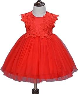 ZAH 子ども の女の子 ベビー スカート 新生児 満月のドレス ベビードレス プリンセスドレス 夏のドレス 入園式 ワンピース サイズ 人ごみ 幼児 リトルガール