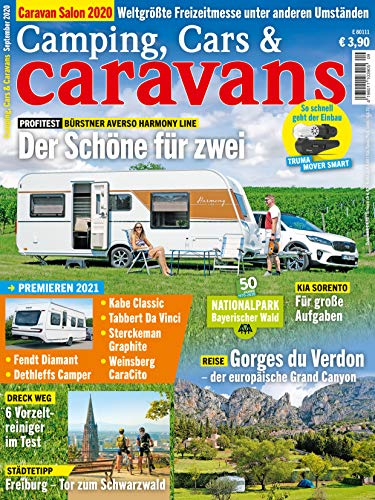 Camping, Cars & Caravans 9/2020