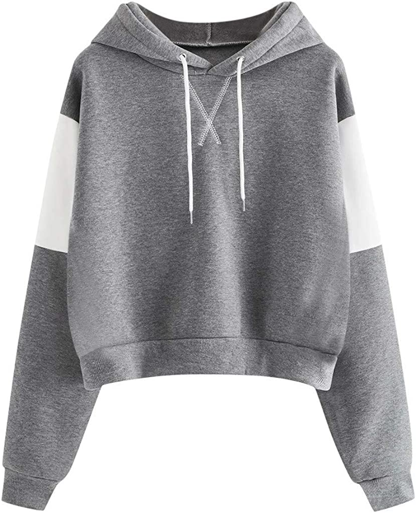 Womens Cute Hoodies, Womens Long Sleeve Cute Graphic Hoodie and Sweatshirt Casual Loose Pullover Tops Sweaters