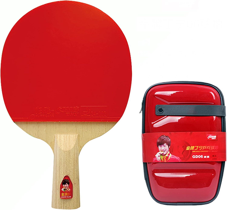 LINGOSHUN Table Max 74% OFF wholesale Tennis Bat 5 Layers 2 of Carbon Wood F
