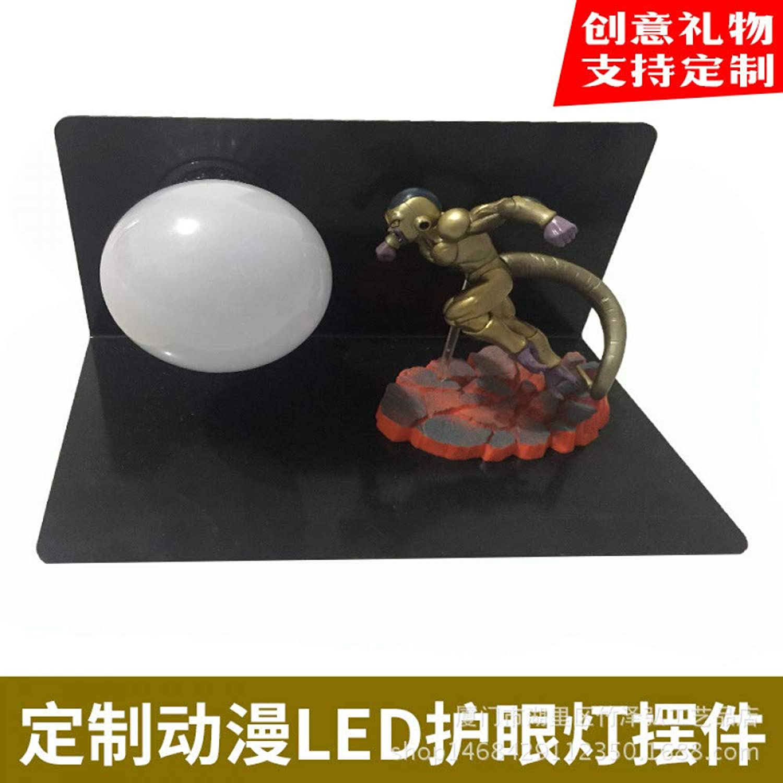 CXQ Dragon Ball Sun Wukong handgefertigte kreative Tischlampe LED Schreibtischlampe Auge Lampe leuchtende Spielzeug kreative Beleuchtung, Dragon Ball Qigong Bombe 15