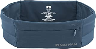 Nathan Running Belt - The Zipster Lite - Waist Pack with 2 Zippers. Bounce Free Pouch/Lightweight/Runners Fanny Pack. Fits All iPhones, Android, Samsung etc. for Men and Women.