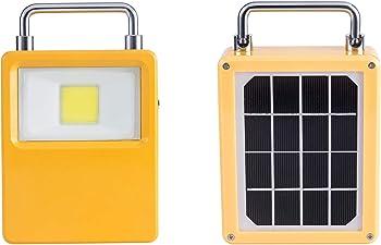 OnlyLux 10-watt LED Rechargeable Waterproof Solar Work Light