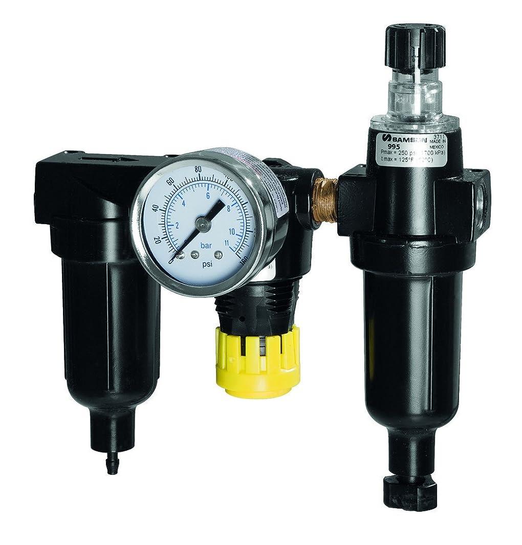 SAMSON 995 Filter, Regulator, Lubricator, 3 Piece Combo, 1/4