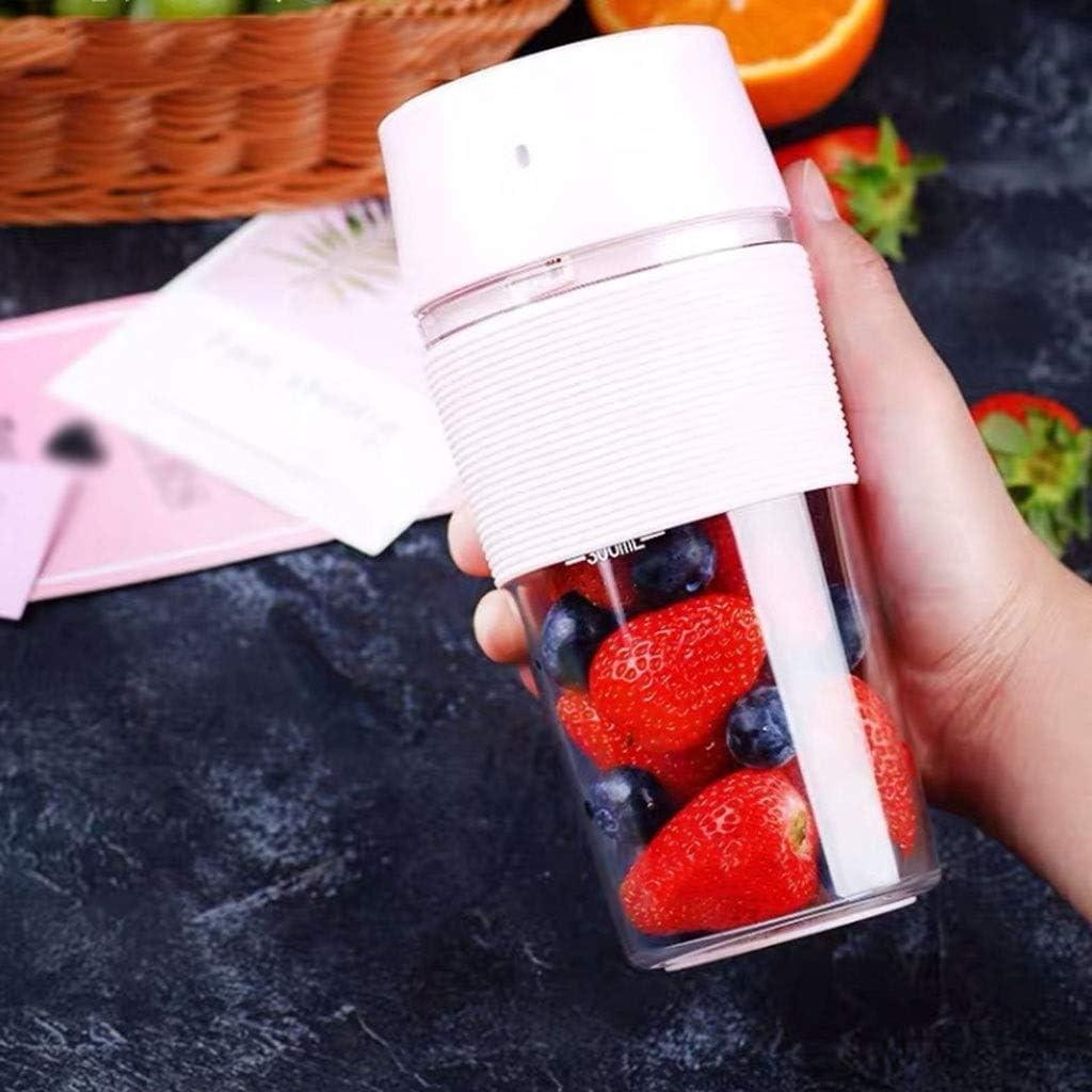 USB rechargeable jus électrique Machines Extractor Mini Juicer Coupe rechargeable Juicer 380ml Taille personnelle bébé peut être utilisé (Couleur: B) FDWFN (Color : A) A