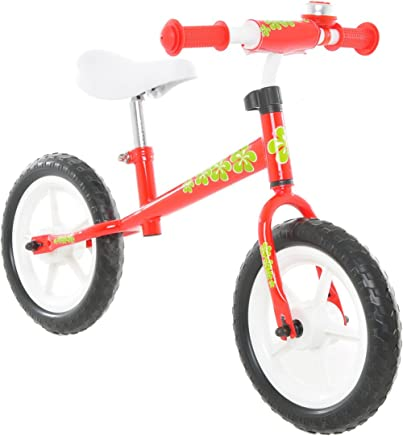 Vilano No Pedal Push Balance bicicleta for Children, Red