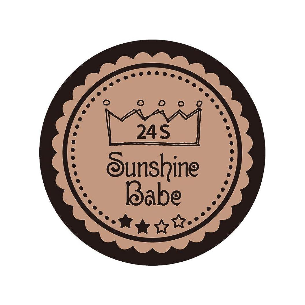 男格差文言Sunshine Babe コスメティックカラー 24S ベージュローゼ 4g UV/LED対応