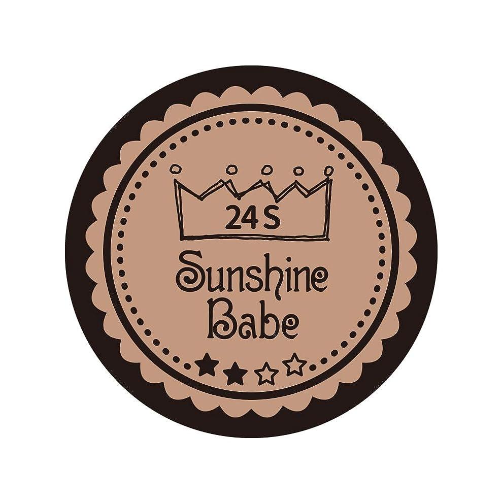 ベッツィトロットウッド男タンカーSunshine Babe カラージェル 24S ベージュローゼ 2.7g UV/LED対応