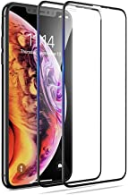 Screen Protector iPhone XR 3D Full Coverage 9H Hardness Easy Installation Kit 0.33mm Premium Tempered Glass Film Compatible with iPhone XR 6.1 inch?2pack?