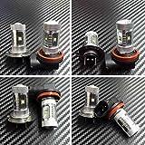 High Power HID LED Headlight H7 H9 Bulbs Lights for Suzuki GSXR 1000 2007-2008