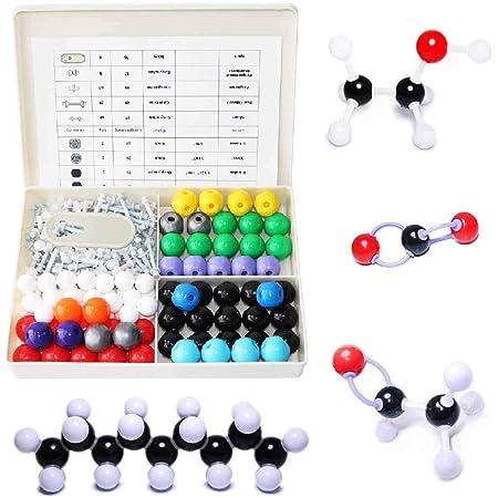 LINKTOR 化学分子モデルキット、有機および無機化学学習用の学生または教師セット、学習および宇宙想像力240パックの育成への意欲を高める