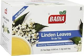 Badia Tea Linden 25 Bag,