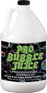 Froggys Fog - Pro Bubble Juice - Professional Bubble Fluid for All Bubble Machines and Bubblers - 1 Gallon