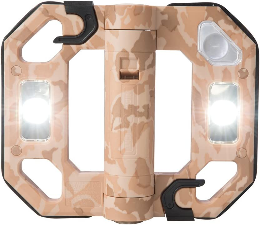 safety Might-D-Light gift LED125DS Mini LED Sand Desert Folding Worklight