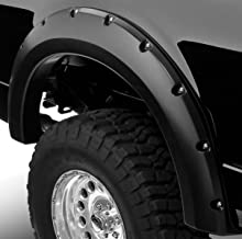 R&L Racing Black Boss Pocket Rivet Style Fender Flares Wheel Cover 4P 07-13 Chevy Avalanche