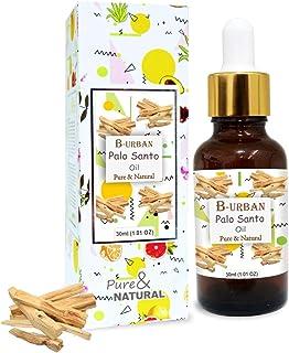 B-URBAN Palo Santo Oil 100% Natural Pure Undiluted Uncut Essential Oil 30ml