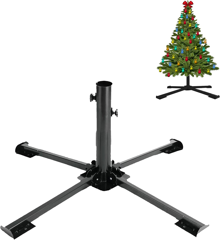 "FLY HAWK Christmas Tree Stand Ch Artificial Colorado Springs Mall Foldable Sacramento Mall 2.04"""