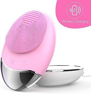 comprar comparacion Esponja Limpiadora Facial de Silicona Cepillos y aparatos para limpiar la cara, cepillo y masajeador facial eléctrico resi...