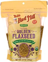 Bob's Red Mill Organic Raw Whole Golden Flaxseeds, 13-ounce