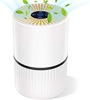 comprar comparacion Purificador de Aire para Hogar Oficina 4 en 1 Filtro HEPA Carbón Activado,con Purificación de Iones Negativos, Aromaterapi...