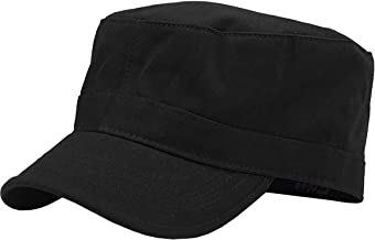 Cadet Army Cap Basic Everyday Military Style Hat (Now with STASH Pocket Version Available)