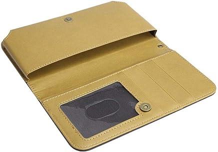 DFV mobile - Nuevo Diseño Funda Bicolor Cartera con Tarjetero y Cierre Magnetico para=>