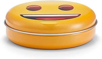 Zeller Caja Smiley, Metal: Amazon.es: Hogar