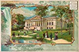 Print Collection New York State Building Pan-American Exposition 1901 Buffalo Ny 20' X 30'