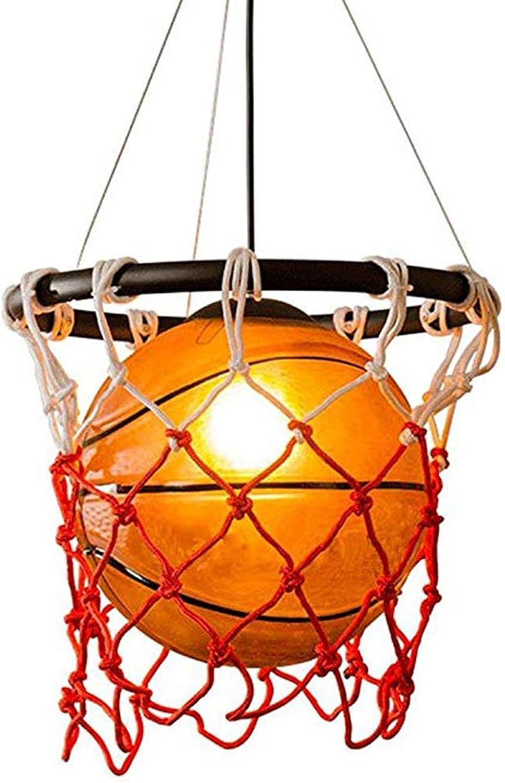 Wghz Kronleuchter, Kreative Basketball Kronleuchter Warmwei Restaurant Bar Persnlichkeit Restaurant Stadion Dekorative Beleuchtung Deckenleuchte