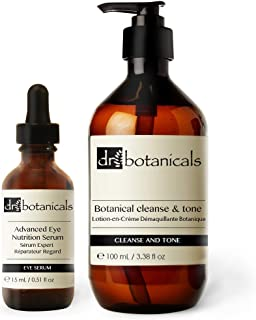 Dr Botanicals Cleanse and Tone Plus Advanced Eye Nutrition Serum, 40 Gram