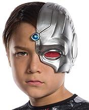 Rubie's Costume Boys Justice League Cyborg Half-Mask Costume, One Size