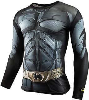 Dri Fit Black Panther Long Sleeve Superhero Compression Gym Shirt For Mens