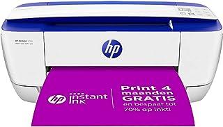 HP DeskJet 3760 All-in-One (C. Blue) XMO2, Draadloze Wifi kleuren inktjet printer voor thuis (Afdrukken, kopiëren, scanne...