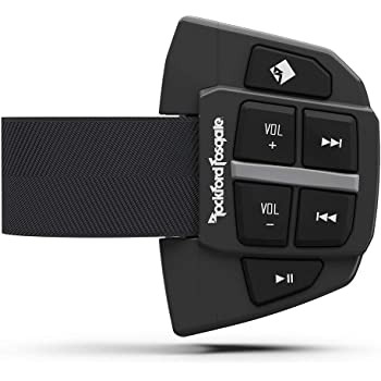 Rockford Fosgate PMX-BTUR Universal Bluetooth Steering Wheel Remote Controller for Car, Truck, Boat, Motorcycle or UTV