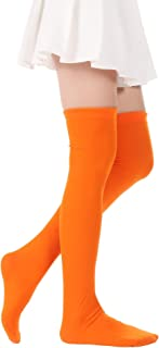 Best orange over knee socks Reviews