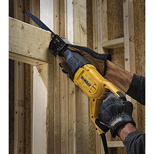 DEWALT Reciprocating Saw, Corded, 12-Amp (DWE305)